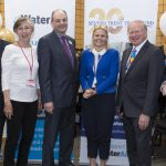 From left, founder trustee Liz Pusey, Auriga CEO Mark Abrams, Severn Trent CEO Liv Garfield and Severn Trent Trust Fund chairman Clive Stone DL